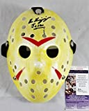 KEN KIRZINGER SIGNED JASON VOORHEES MASK FRIDAY THE 13TH JSA COA 509