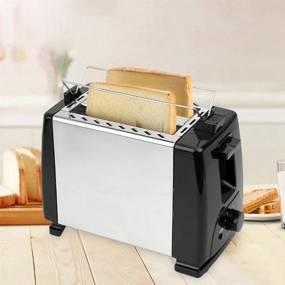JIAX 600W Tostadora eléctrica Cafetera eléctrica Grill automática ...