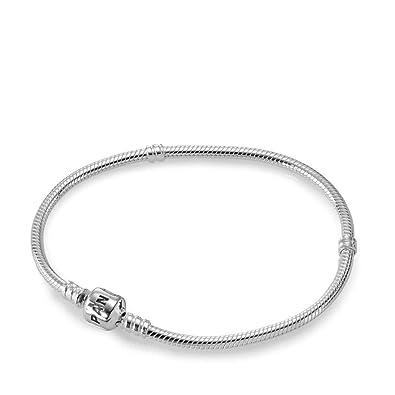 980512943fdc Pandora Pulsera charm Mujer plata - 590702HV-15  Amazon.es  Joyería