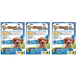 Vetguard Plus - Small Dogs - 4 Month Supply (Pack of 3)