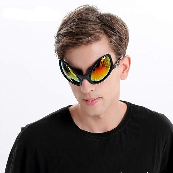 WWVAVA Gafas de Fiesta Divertido Traje de Alien Gafas de Sol ...