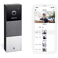 Smart Video Doorbell by Netatmo, 2 Way Audio, HD 1080P, Easy Installation, NDBUS
