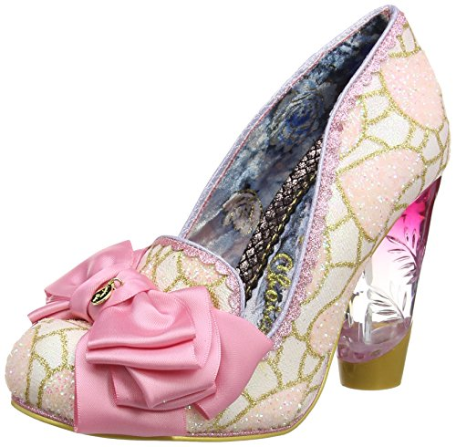 Irregular Choice Damen Cola Cubes Pumps Rose