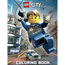 LEGO CITY: Coloring Book for Kids and Adults - 40 illustrations
