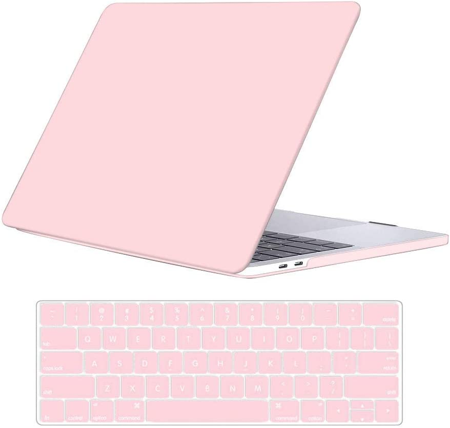 Rose Quartz-N25 A1932 KBBHD Plastic Shell Case Cover Keyboard Cover Only Compatible Newest Version MacBook Air 13 inch Retina//Touch ID 2018 Release Model