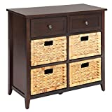 espresso accent chest - Bowery Hill 6 Drawers Accent Chest in Espresso