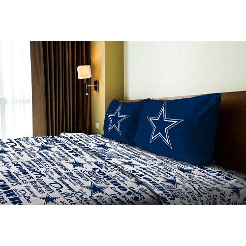 Dallas Cowboys Full Sheet Set - Cowboy Bed Sheets