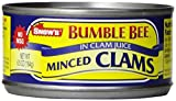 Bumble Bee Snow's Minced Clams, 6.5 Ounce Can