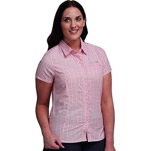Regatta Ladies Talia Checked Summer Shirt Purple RWS050 Peach Bloom