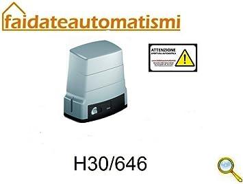 Motor para automatismos Puerta Corredera 600 kg con Marco H30/644 ...