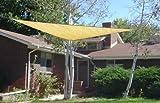 SueSport Triangle 16'x 16'x 16' Durable Sun Shade