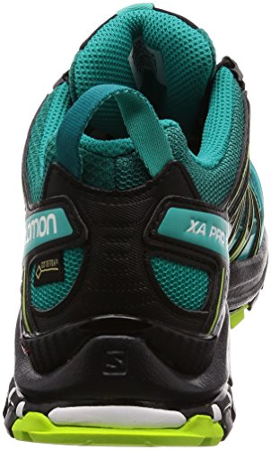 de Chaussures Lake GTX Trail 3D Deep XA Green Black Bleu Pro Femme Salomon Lime qwnX1HBxI