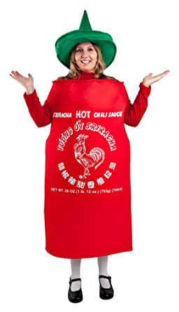 adult hot sauce costume standard