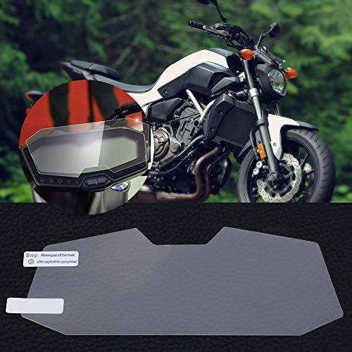Delaman Protector de Pantalla Cluster Scratch Protection Film para Yamaha FZ07 MT 07 2014-2017