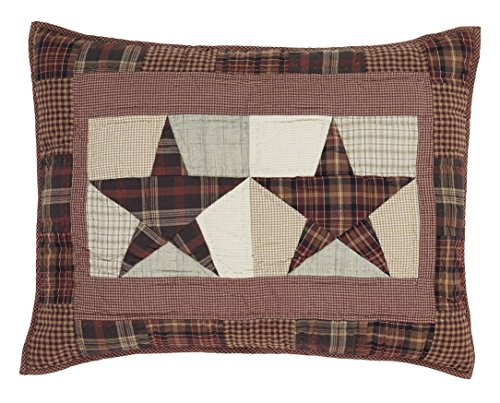 Abilene Star Standard Patchwork Star Pillow Sham 21