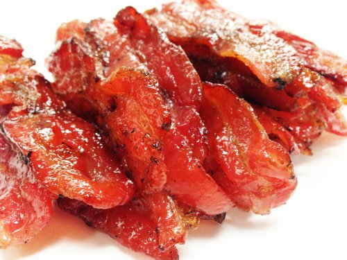 Made to Order Fire-Grilled Oriental Bacon Jerky (Original Flavor) aka Singapore Bak Kwa - Los Angeles Times