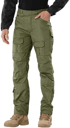 Breathable Men/'s Cargo Combat Pants Waterproof Winter Outdoor Tactical Trousers