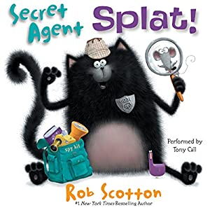Secret Agent Splat! Audiobook