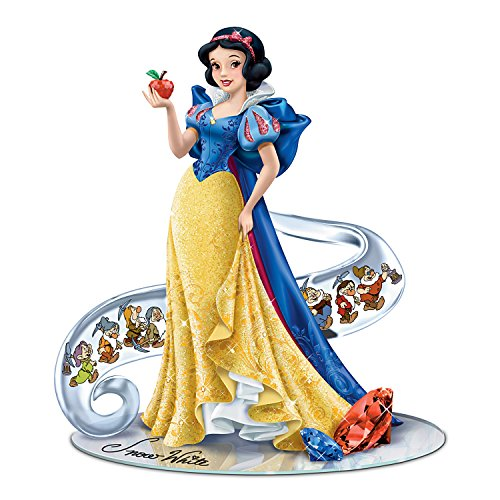 Disney's Snow White: Fairest Of Them All Figurine Enhanced With Swarovski Crystals by The Hamilton Collection