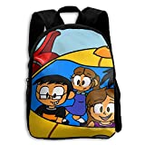 Little Einsteins Comfy School Bags,Custom Cute Children Shoulder Daypack,Print Backpack For Kids