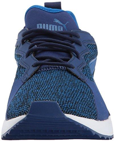PUMA Mens Pacer Next TW Knit Sneaker Blue Depths-lapis Blue 7M9K1