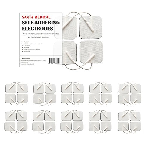 Cloth Electrodes - Santamedical 40 pack of 2