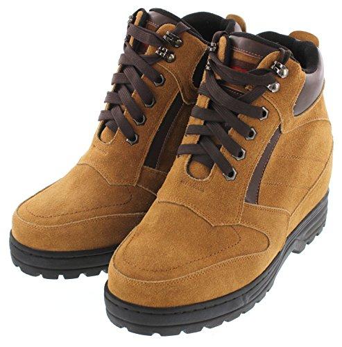 K-CALDEN 881803-13,21 (5,2)-Tappetto cm, altezza aumentare ascensore scarpe Stivaletti in nabuk, colore: marrone