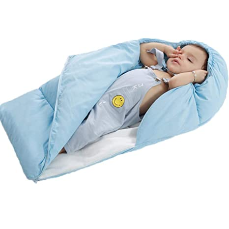 ASEOK Saco de dormir para bebés Cocoon Style Saco de dormir de algodón anti patada,