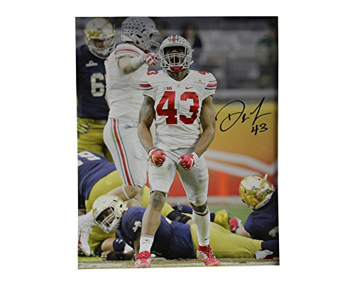 Darron Lee Autographed 16x20 Photo Ohio State Buckeyes - Certified Authentic