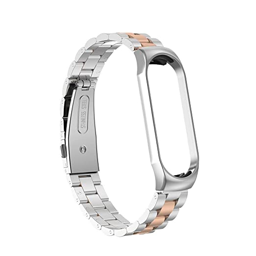 Amazon.com: Cywulin Bracelet Strap for Xiao Mi Band 4 ...