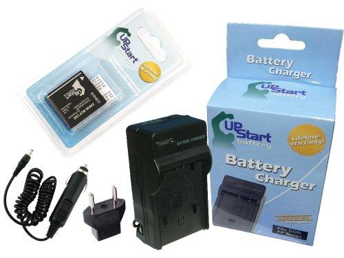 Panasonic Lumix CGA-S/106C Battery and Charger with Car Plug