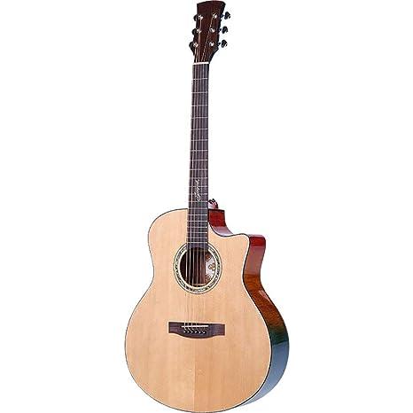 NUYI 41 Pulgadas Guitar Spruce Veneer Guitarra Folk Guitarra ...