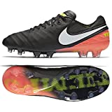 Equipped with new hidden innovations that bring your foot closer to the ball than ever, the Nike Tiempo Legend VI Men's Firm-Ground Soccer Cleat is made with non-slip technologies and premium leather to truly dominate on the field|Snug Fit|Pr...