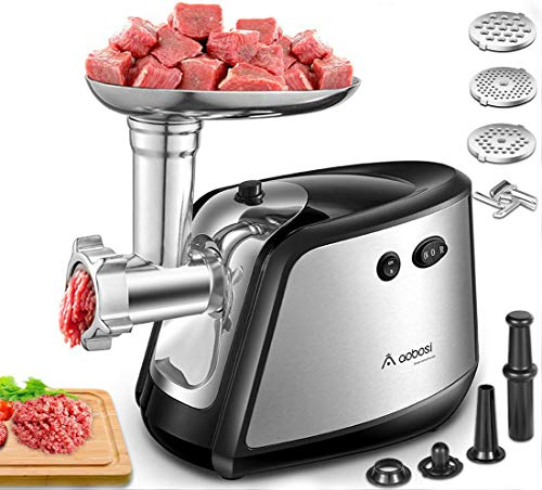 Aobosi Electric Meat Grinder 【1200W MAX】3-IN-1 Stainless for sale  Delivered anywhere in USA