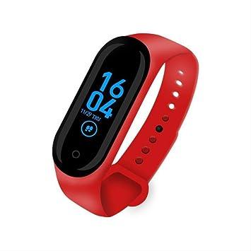 QSJWLKJ Mujeres Deporte Impermeable Smartwatch Monitor de ...