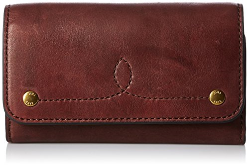 FRYE Campus Rivet Phone Wallet, Black Cherry