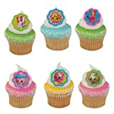 Shopkins I Love Shopkins Cupcake Rings - 24 ct