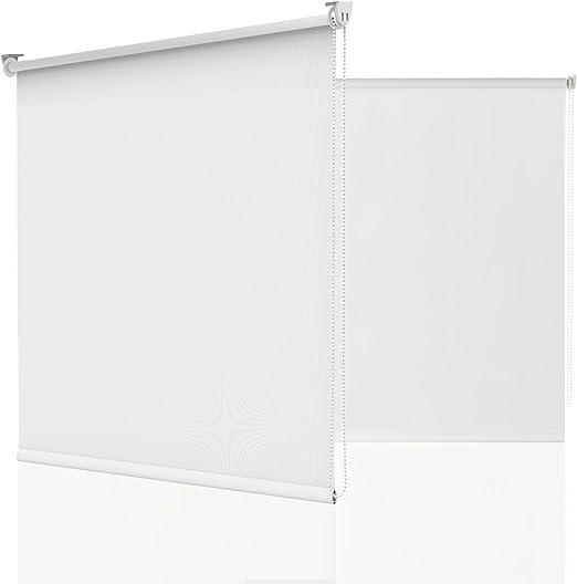 Rollo ohne Bohren Seitenzugrollo Fensterrollo tageslicht Dream Klemmfix