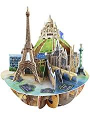 Paris 3D Pop Up Card