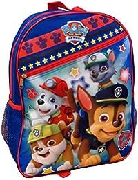 """Nickelodeon Paw Patrol Blue 15"""" School Bag Backpack"""