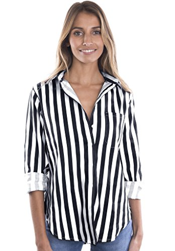 Stretch Button Up Shirt - 8