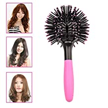 Ckeyin® 3D Spherical massage comb volume comb, hair Styling Tools Hairbrush With Handle Hair Care
