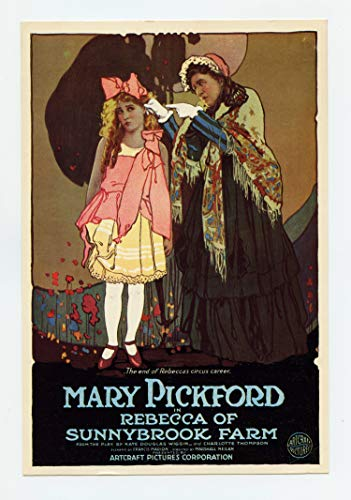 (Mary Pickford Rebecca of Sunnybrook Farm Postcard)