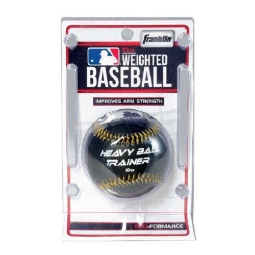 Franklin Sports Weighted Baseball (10-Ounce) 1052