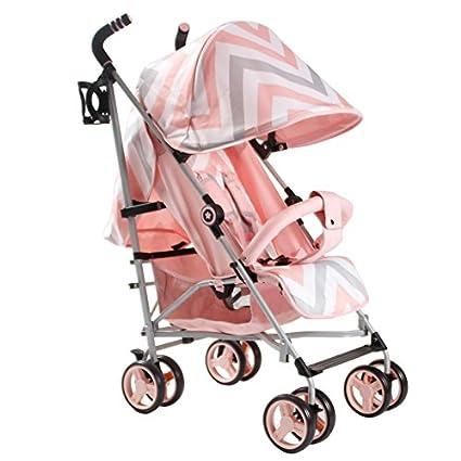 Mi Babiie MB02 rosa Chevron carrito - incluye protector de ...