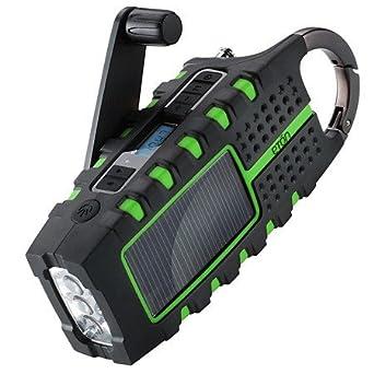 Eton SCORPION - Solar Powered Radio & LED Flashlight