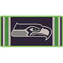 Seattle Seahawks Team Jersey Style Deluxe Laser Cut License Plate Tag Football