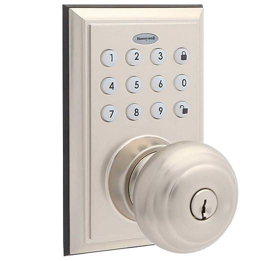 Honeywell - Pomo de puerta con Bluetooth habilitado para ...
