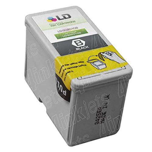 (JS S020108 Black Printer Reman Ink Cartridge for Epson Stylus Color 800 800n 850)