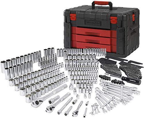 WORKPRO 450-Piece Mechanics Tool Set